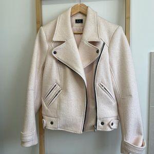 Bardot Woollen Biker Jacket